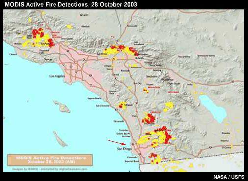 Multispectral Satellite Applications Monitoring The Wildland Fire