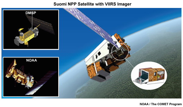 Multispectral Satellite Applications: Monitoring the