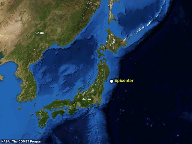 Aerial Map Of Japan.Tsunami Strike Caribbean Edition Media Gallery