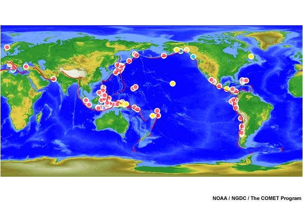 The 100 Map Of Earth.Tsunami Strike Caribbean Edition Media Gallery